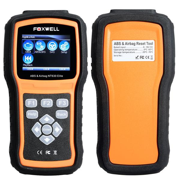 Original Foxwell NT630 Elite ABS and Airbag Reset Tool with